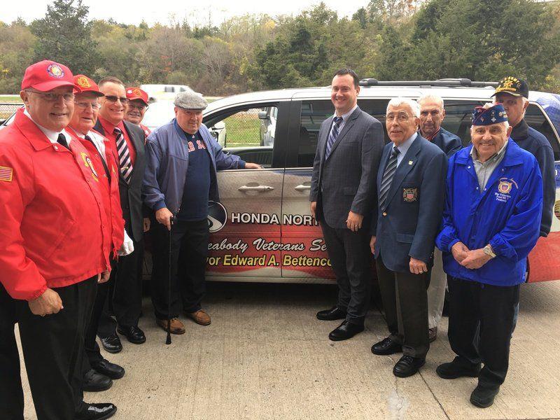 Honda North Donates Odyssey For Veterans Transportation