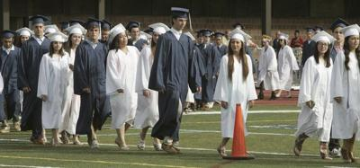 5320c3a899d Peabody High will keep blue and white caps and gowns | Local News ...