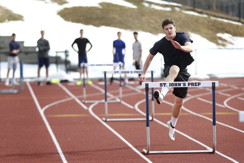 With Shelgren leading the way, Prep track team looks to make plenty of noise outdoors