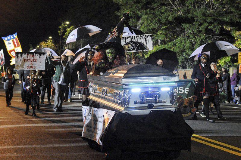 Ghoulish parade