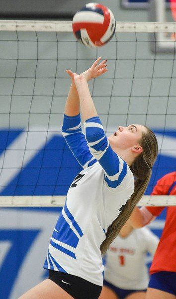 Eldridge chosen as NEC Volleyball Player of the Year for unbeaten Falcons