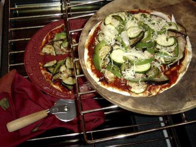 If you love thin crust, try this veggie tortilla pizza