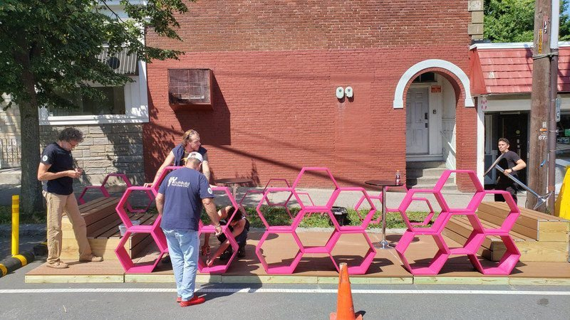 Parklets are popping up in Salem, and more are on the way