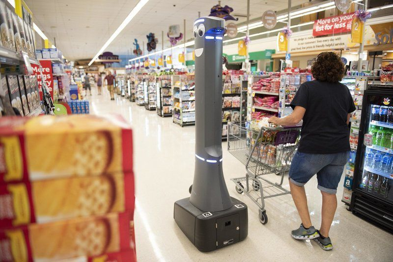 Robots 'in the wild' and in aisle 9