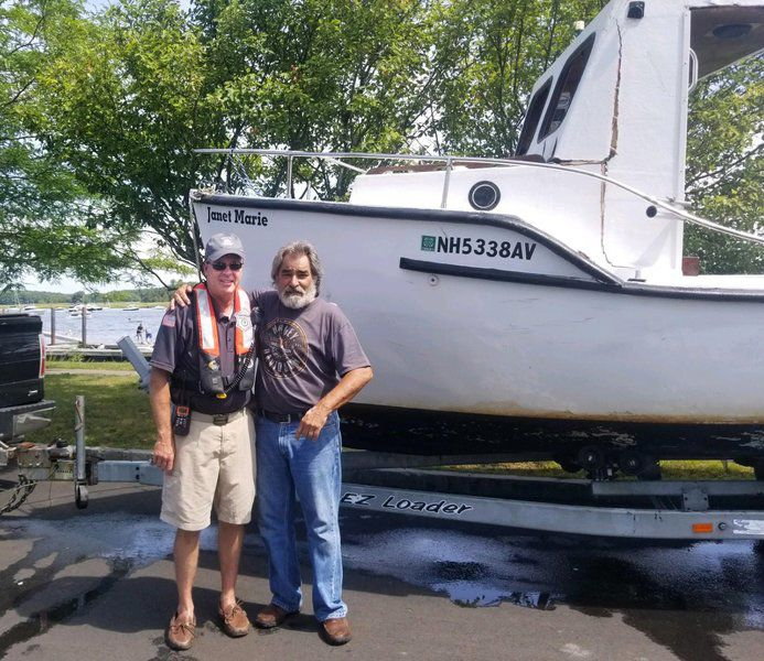 Newburyport assistant harbormaster recalls weekend water rescue
