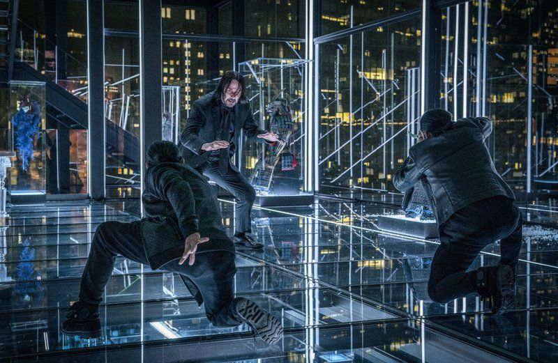 Movie review: In 'Parabellum,' John Wick is on the run again