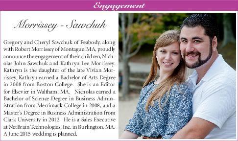 Morrissey - Sawchuk engagement