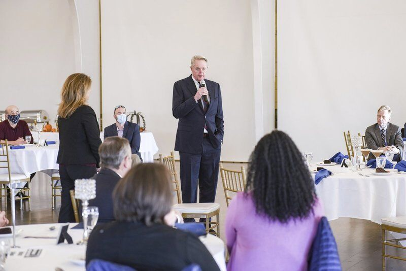 Chamber honors its longtime president