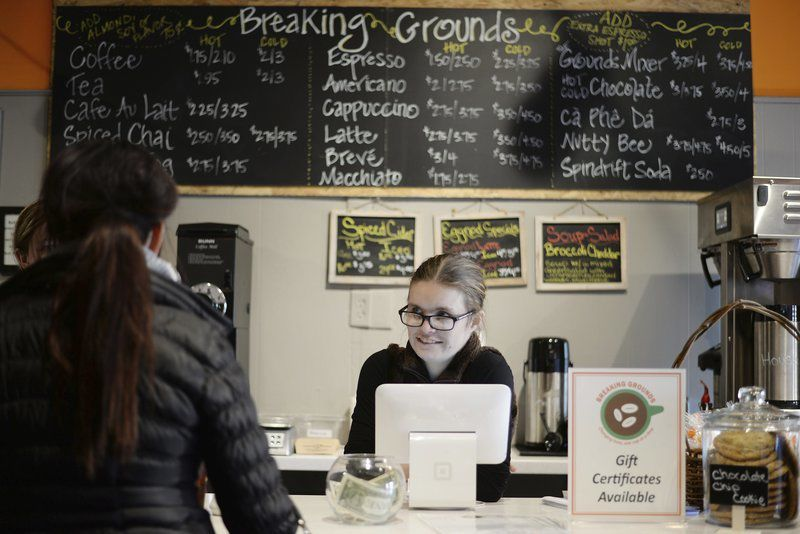 New cafe breaks ground in Peabody,in more ways than one