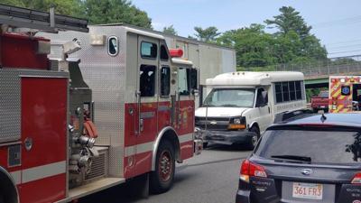 Accident involving bus slows 128 traffic | Local News | salemnews com
