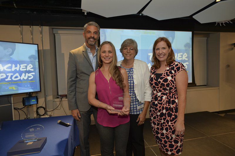 Teacher feted for planting seeds of healthy eating