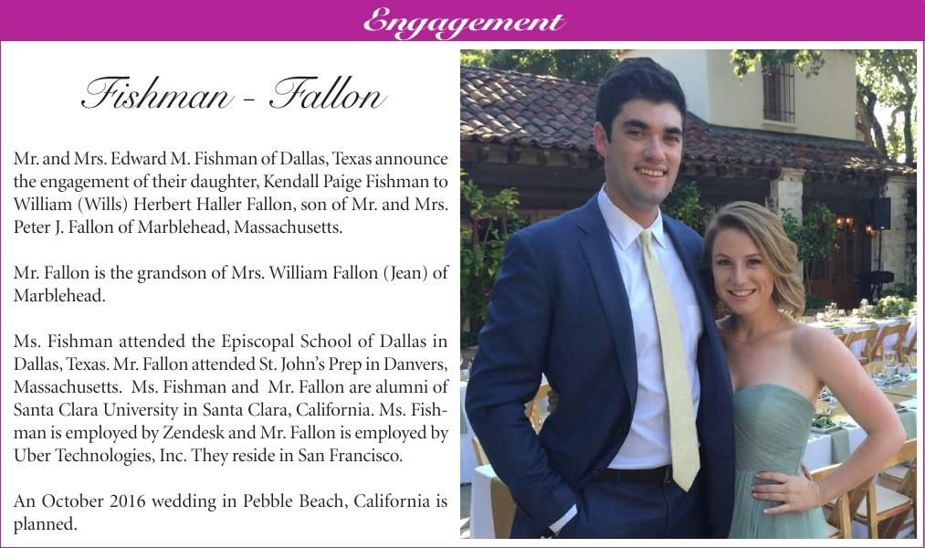 Fishman-Fallon Engagement