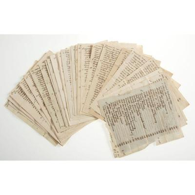 Holten letters sell for more than $46K at auction
