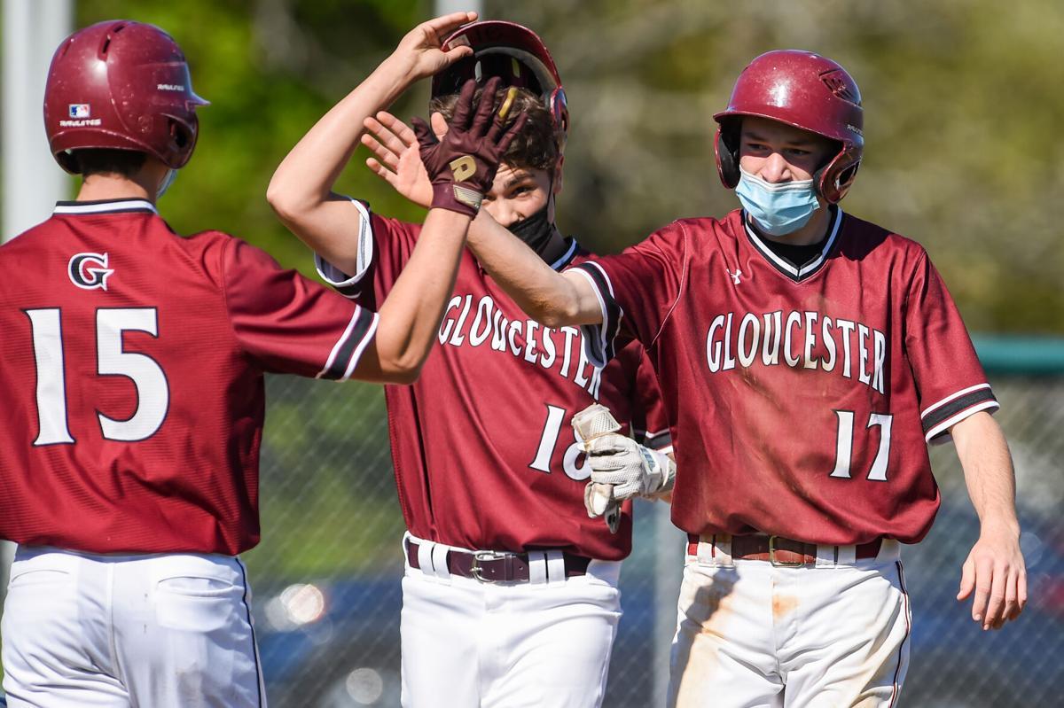 Danvers vs Gloucester varsity baseball game