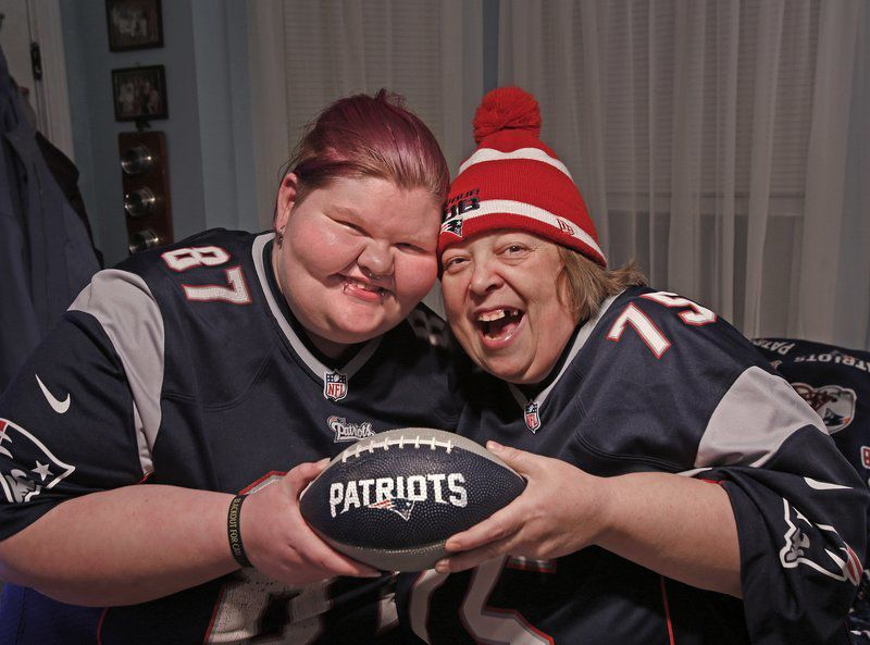 'Die-hard' Pats fan hopes to keep 'curse' in check