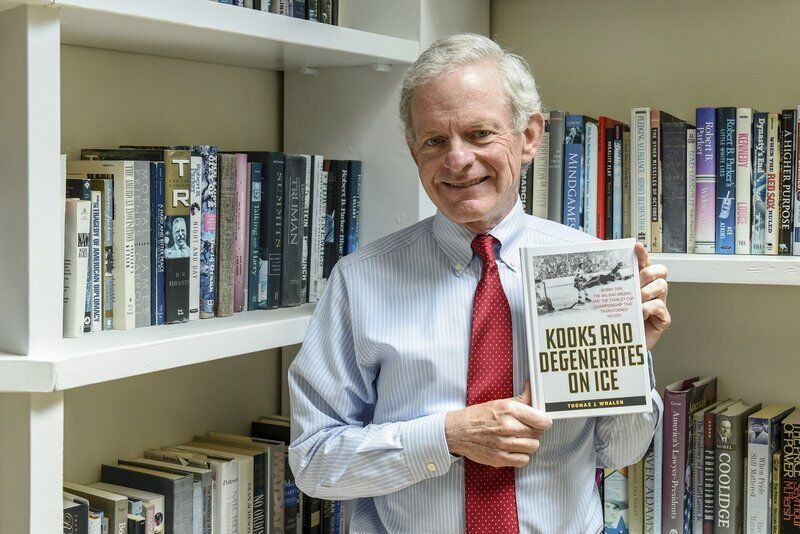 In new book, Beverly's Whalen digs deep into history -- and Bruins memories from yesteryear