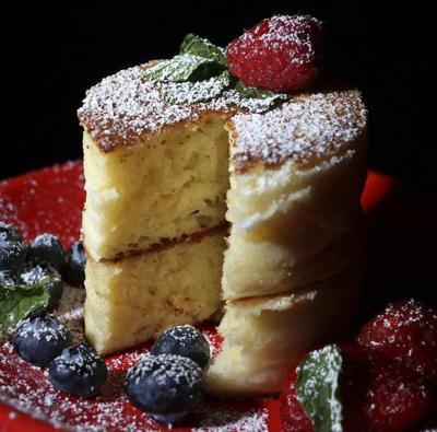 Soufflé pancakes a light and fluffy treat
