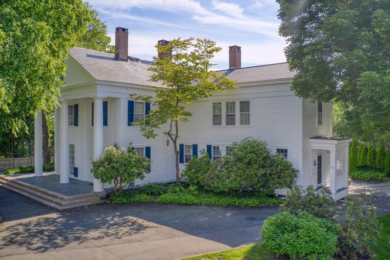 Classic Greek Revival affords elegance and grace in Danvers
