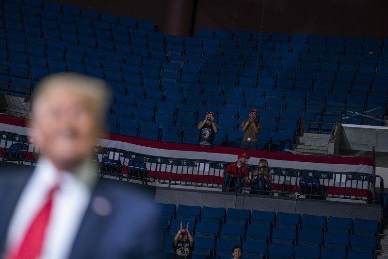 Did TikTok teens, K-Pop fans punk Trump's comeback rally?