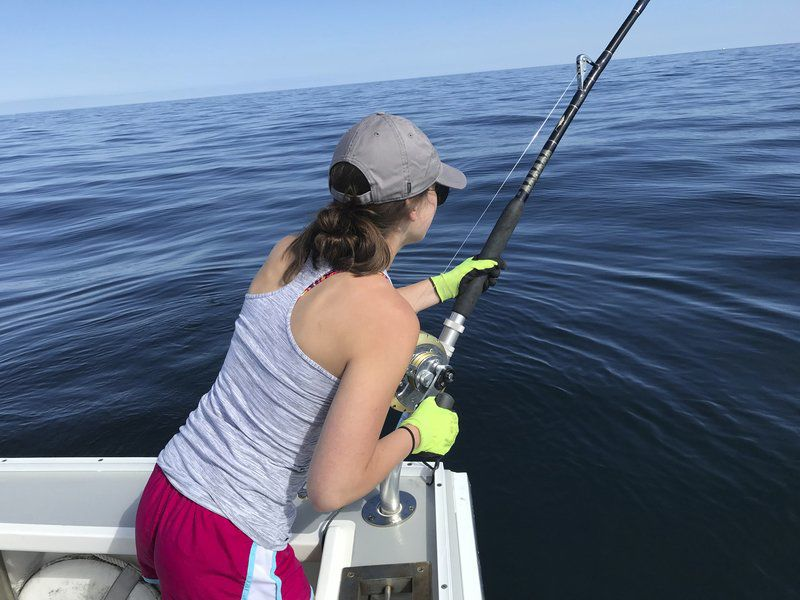 Teen's first tuna catch a big one