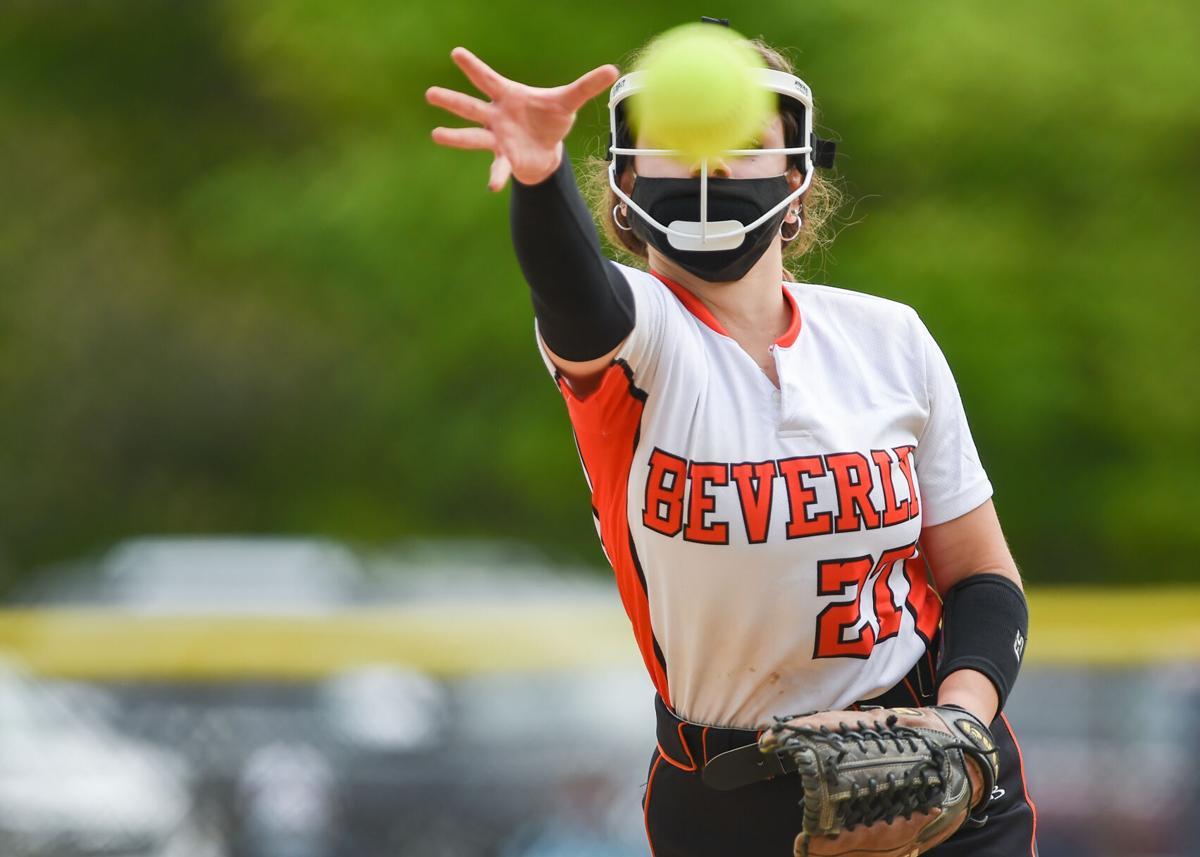 Beverly at Peabody varsity softball game