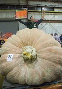 2018 Topsfield Fair Giant Pumpkin Weigh Off Multimedia Salemnewscom