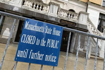Statehouse closed