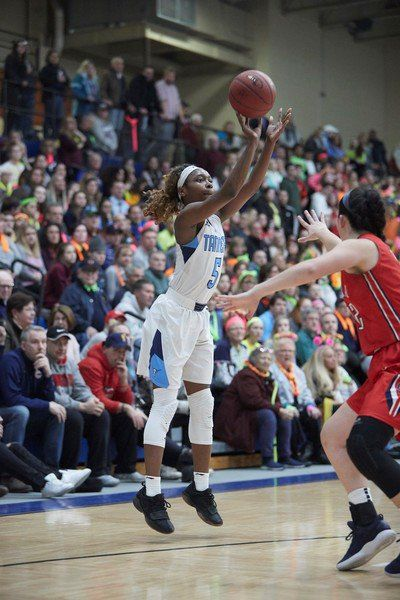 Peabody's Okananwa shines in first season for New Hampton basketball