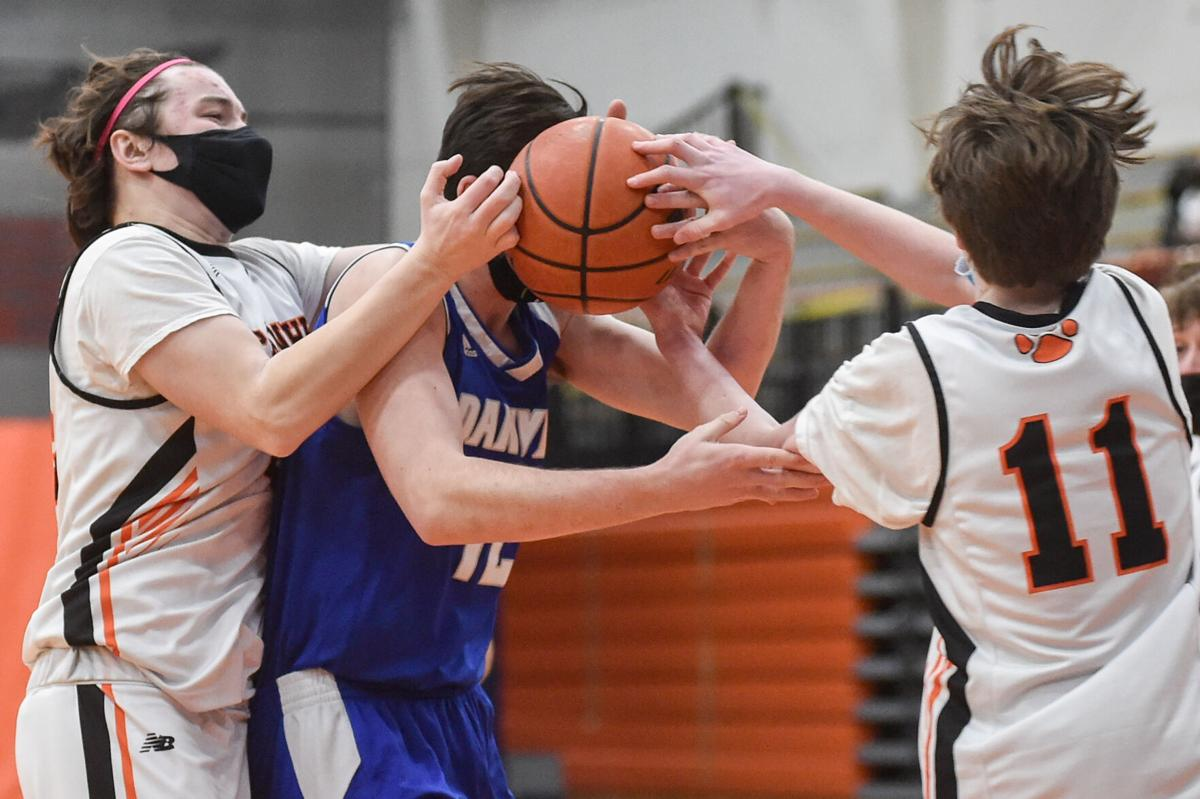 Danvers at Beverly boys varsity basketball