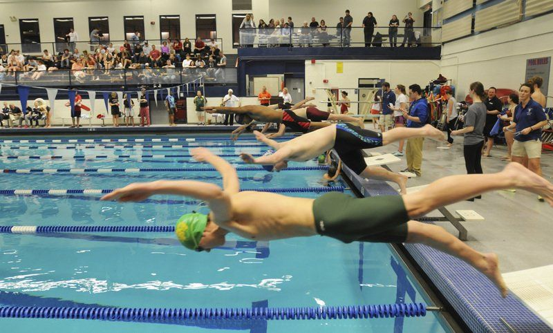 Marblehead swimmers win another northeastern conference - Northeastern university swimming pool ...