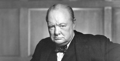 Column: Churchill's enduring example