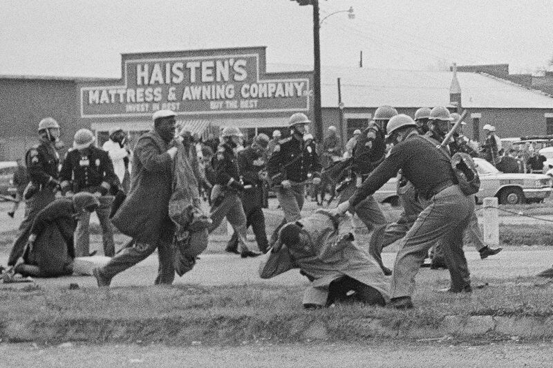 Column: Remembering a march that John Lewis sat out