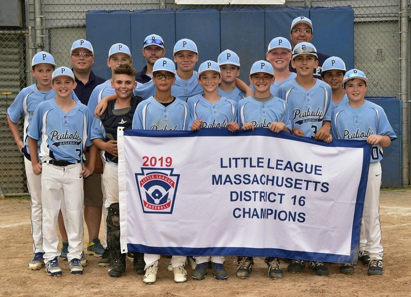 Peabody Little Leaguers finish unbeaten to claim District 16 crown