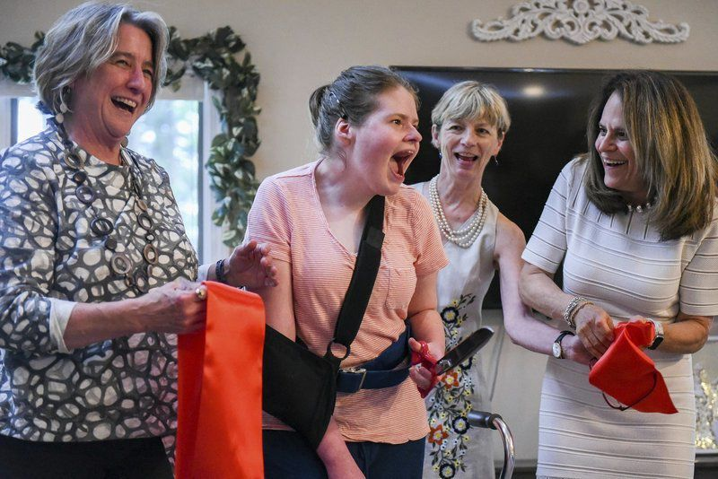 Home provides 'happy place' for residents with rare genetic disorder