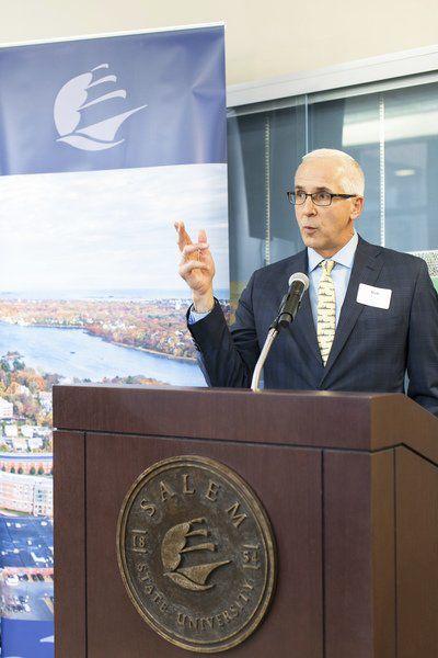 Salem State unveils new finance lab