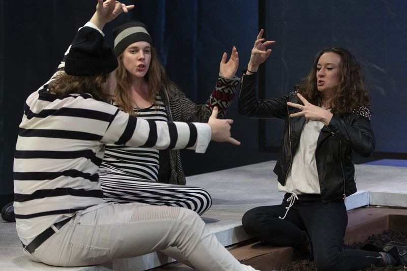 'Hamlet' upended: Gloucester Stage stays true to itself with modern take on Shakespeare