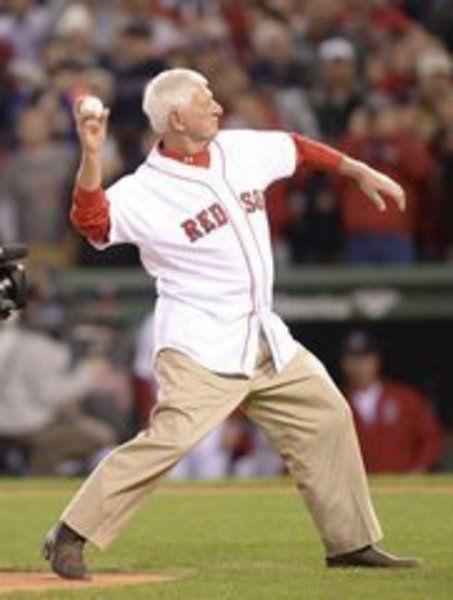 Red Sox great a proud granddad