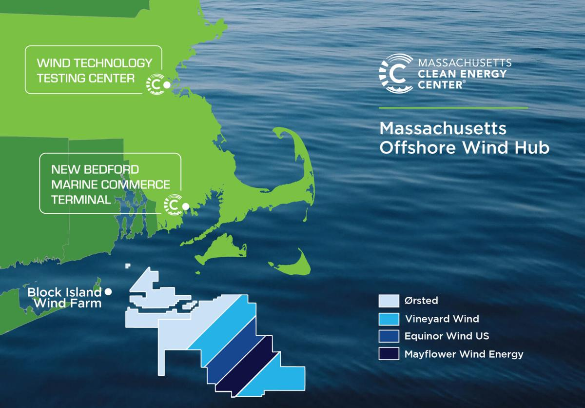 Offshore wind lease areas