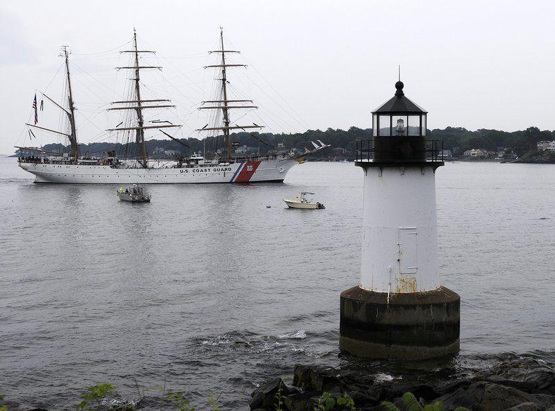 Tall ship Eagle back in Salem Friday