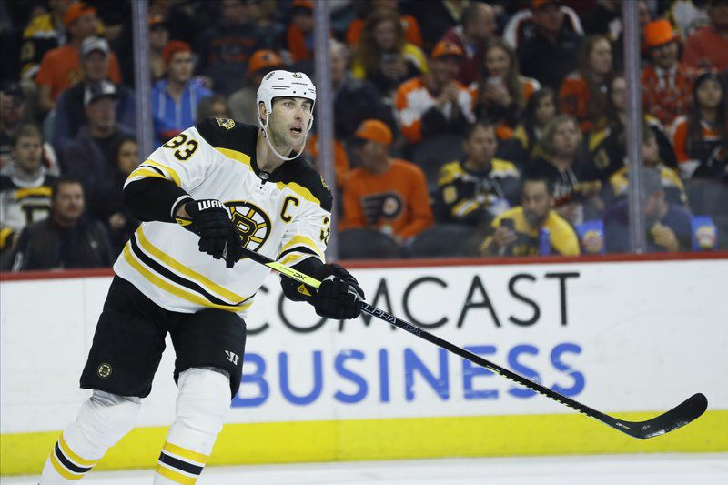 Is there a chance we've seen Chara's last game as a Bruin?