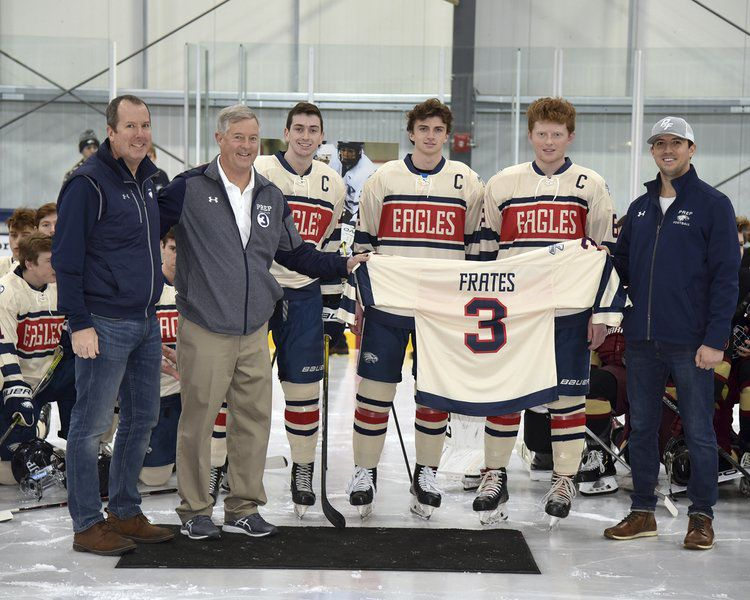 Prep earns a point with BC High in annual Pete Frates Winter Classic