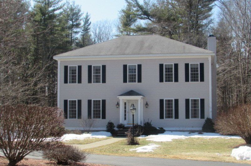 Rowley colonial exudes elegance and grace