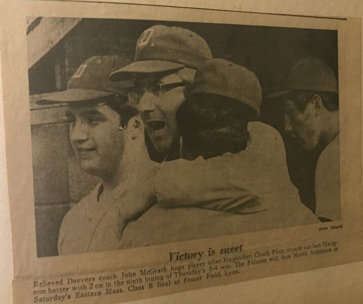 Danvers High baseball Class B state champs remembered fondly 50 years later