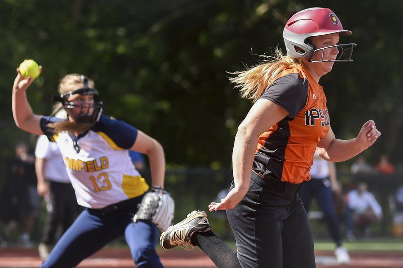 Ipswich softball rallies from early deficit, but ultimately falls to CAL rival Lynnfield