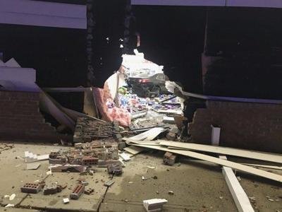 Driver dies after crash into CVS
