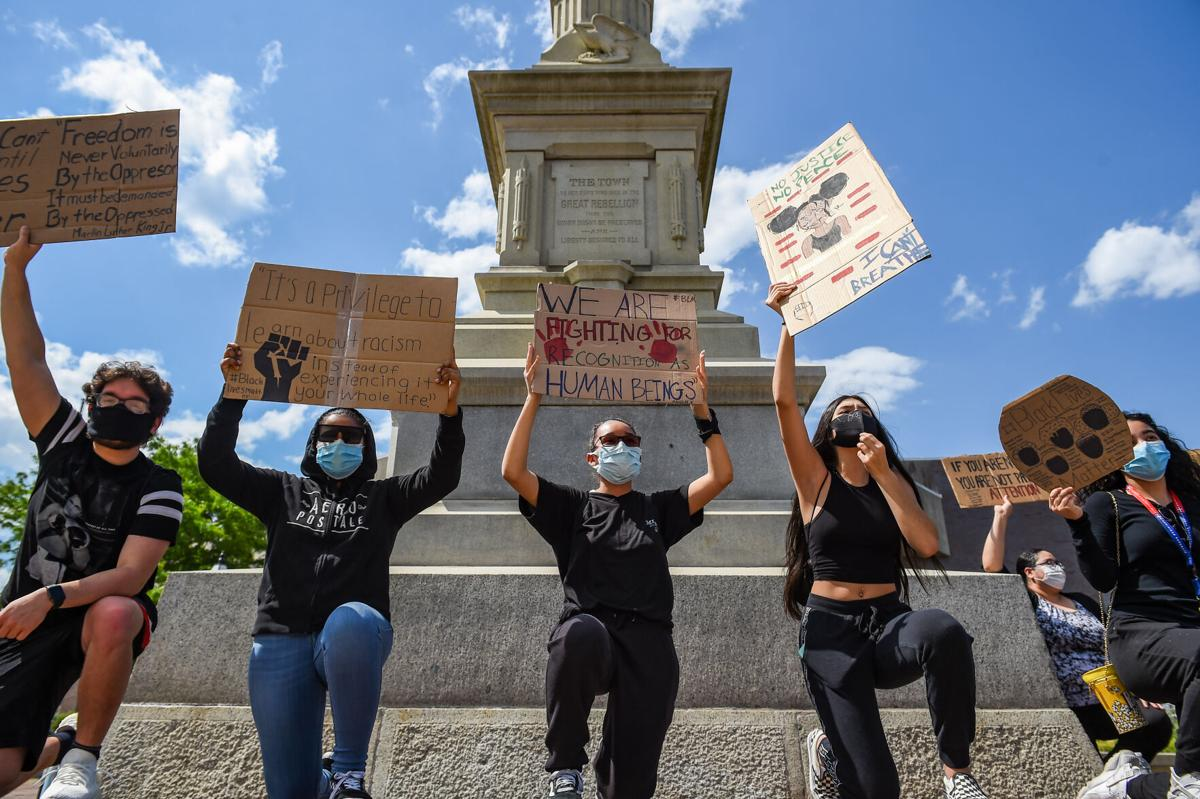 Black Lives Matter protest takes place in Peabody