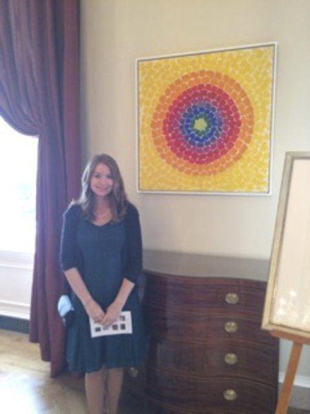 Designer Of White House Ornament Visits Washington