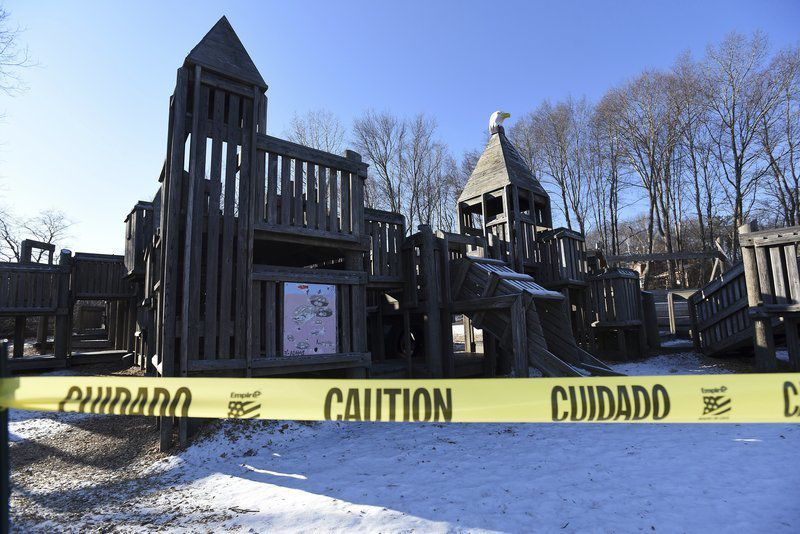 Eagle's Nest playground to fly coop