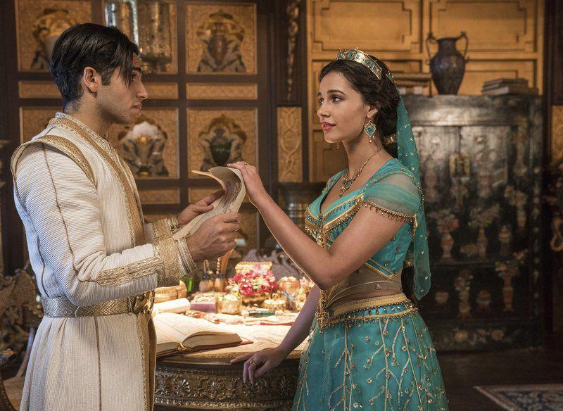Movie review: Will Smith, Naomi Scott shine in 'Aladdin' remake