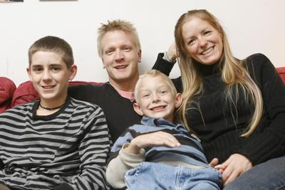 Matt King And His Wife Kristen Young Of Beverly Have Both Served In The Middle East With Them Are S Sons Alex 13 Nathan 7